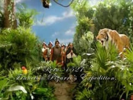 Cine las Américas Film Ad -  Shaolin Incas