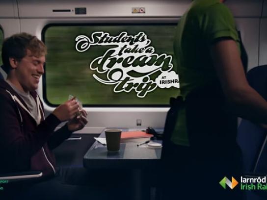 Iarnród Eireann Film Ad - Dream Trips