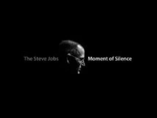 Moment of Silence Digital Ad -  The Steve Jobs Moment of Silence