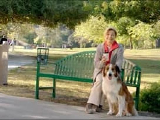 FirstEnergy Film Ad -  Park Bench