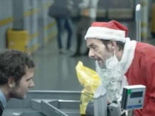 Coop Film Ad -  Santa Strange