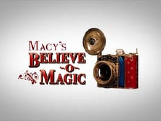 Macy's Digital Ad -  Believe-o-Magic App