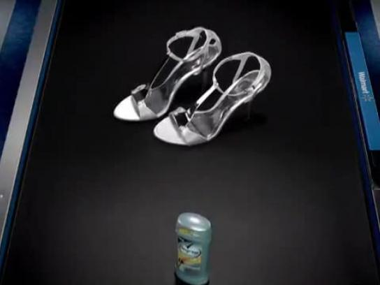 Walmart Film Ad -  Silver Shoes