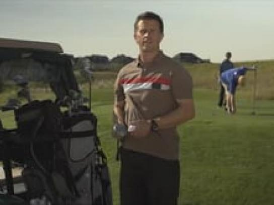Calgary International Film Festival Film Ad -  Golfer