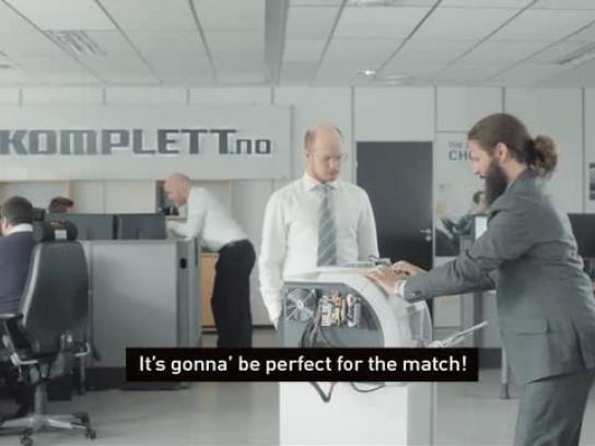 Komplett.no Film Ad -  Confetti