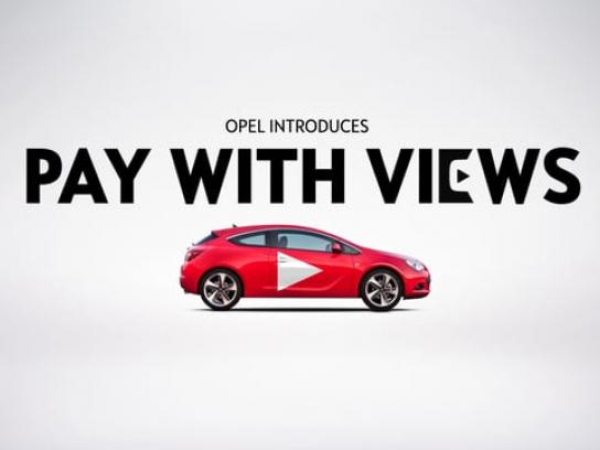 Opel Film Ad - Pay With Views