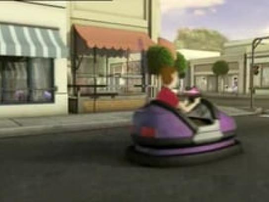 Bridgestone Film Ad -  Bumper Cars
