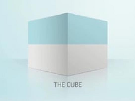 Unicredit Ambient Ad -  The Cube