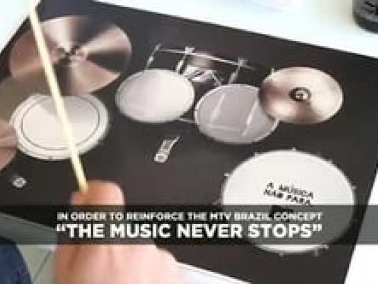 MTV Ambient Ad -  Chopsticks