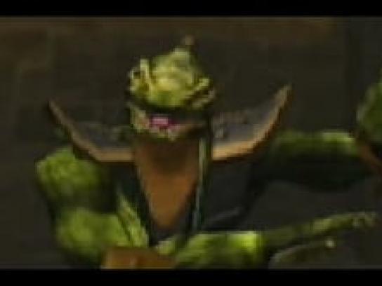 Mortal Kombat Digital Ad -  Reptile