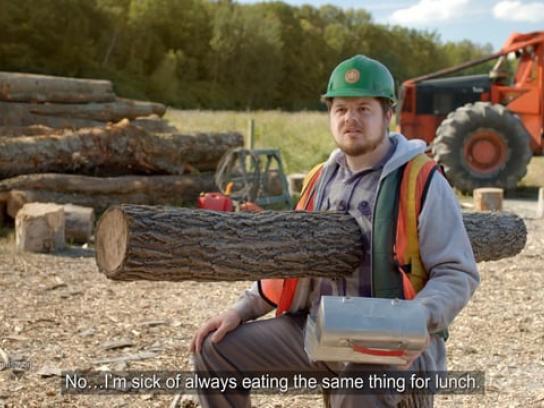 Super C Film Ad - Lumberjack