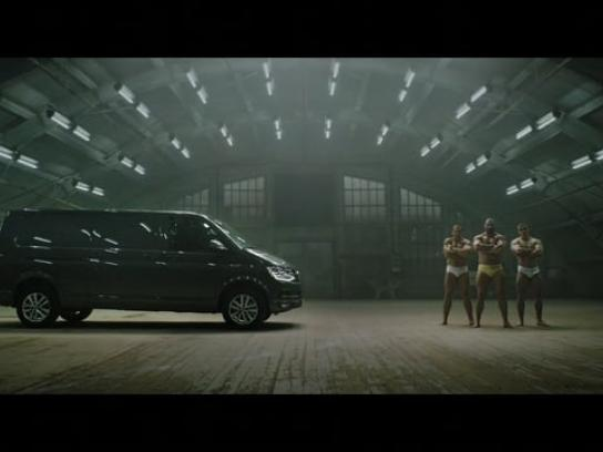Volkswagen Film Ad - Transporter vs. Bodybuilders