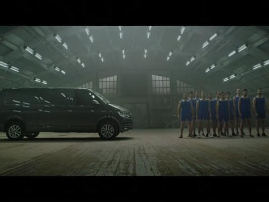 Volkswagen Film Ad - Transporter vs. Gymnasts