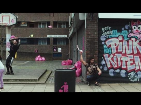 Think! Film Ad - Pink Kittens