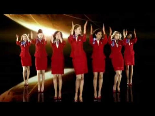 Virgin Film Ad -  Your airline's either got it or it hasn't