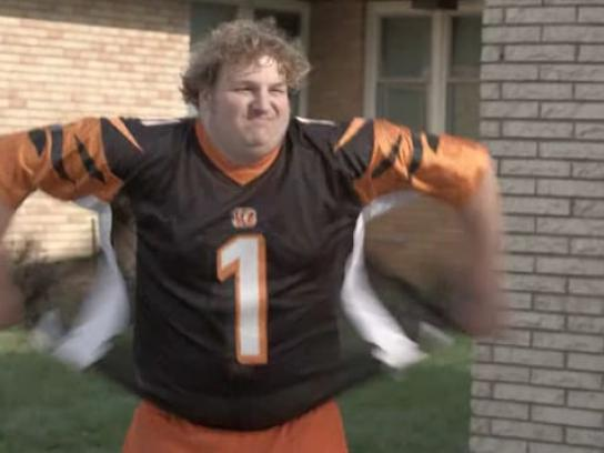 Fifth Third Bank Film Ad -  Bengals checking account, Jersey