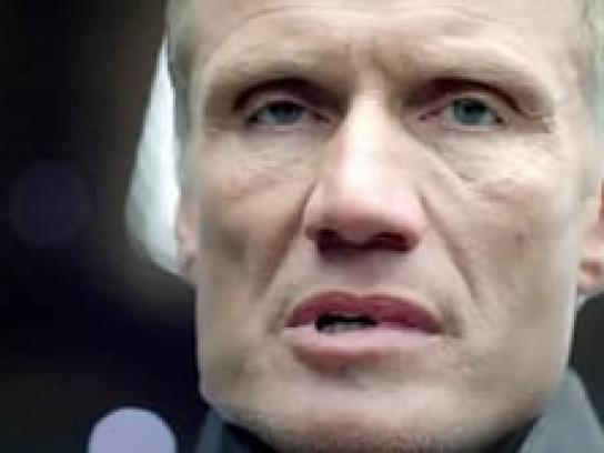 Symantec Film Ad -  Lundgren Loses His Head