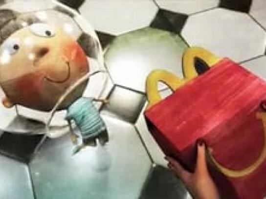 McDonald's Film Ad -  Spaceman Stu