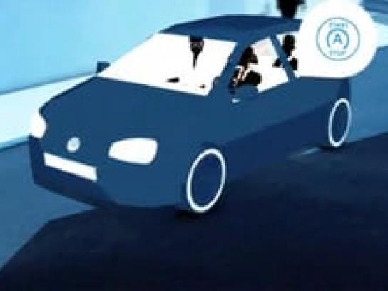Volkswagen Film Ad -  Think blue