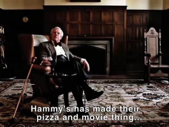 Hammy's Pizza Film Ad -  Pompous snob offer