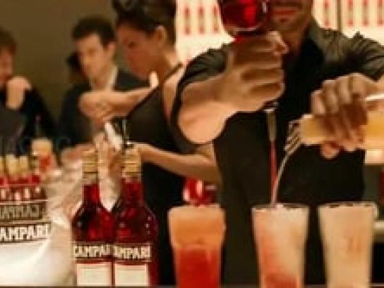 Campari Film Ad -  Cocktails recipes, Orange