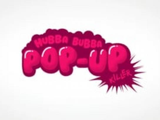 Hubba Bubba Digital Ad -  Pop-up killer