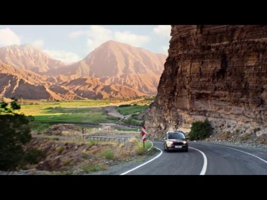 Ford Film Ad - Courier Blackline