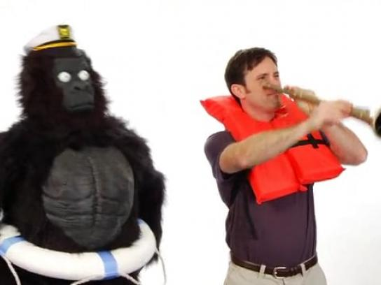Everything Is Better with a Gorilla Film Ad -  Sailing