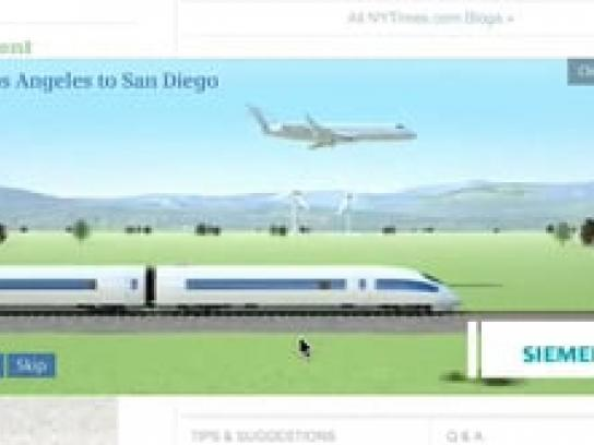 Siemens Digital Ad -  High-Speed Rail