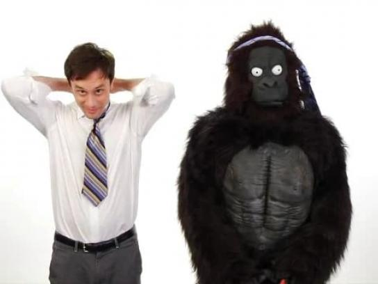 Everything Is Better with a Gorilla Film Ad -  Tie
