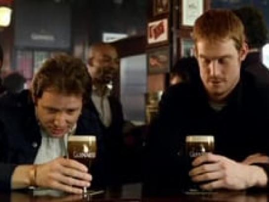 Guinness Film Ad -  To Arthur