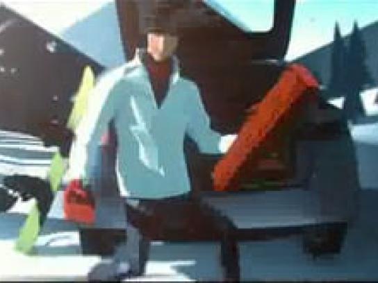 Honda Film Ad -  Snow trip