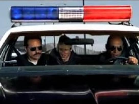 Bojangles' Film Ad -  Police car