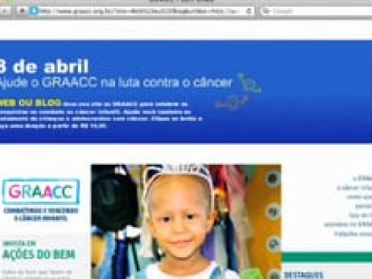 GRAACC Film Ad -  Donate your website