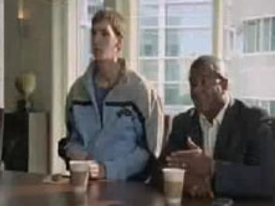 American Airlines Film Ad -  Big Man