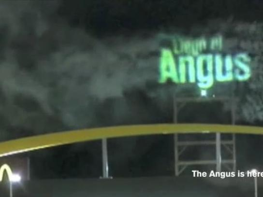 McDonald's Ambient Ad -  Grill Smoke