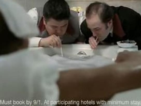 Hotels.com Film Ad -  Bubble Bath