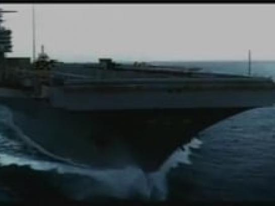 The World March for Peace Film Ad -  Aircraft carrier
