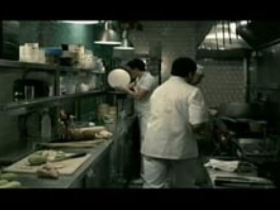 Cream Film Ad -  Chef