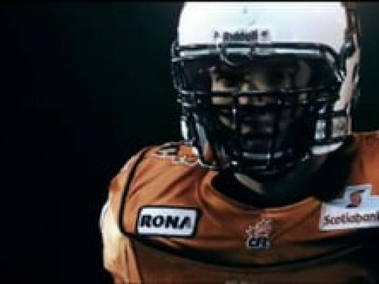 BC Lions Film Ad -  Defence