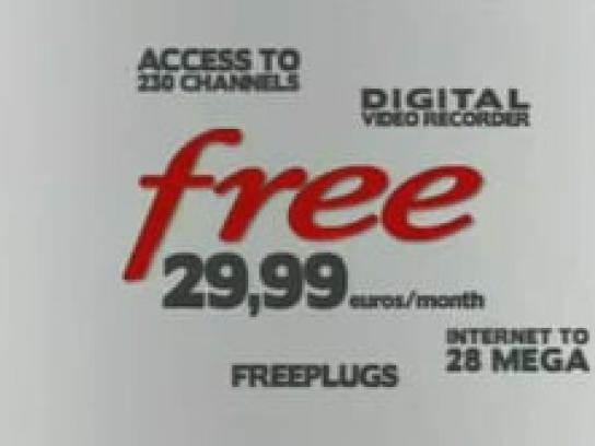 Freebox Film Ad -  Van Gogh