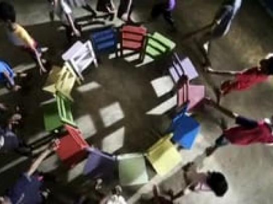 Give Space Film Ad -  Chair