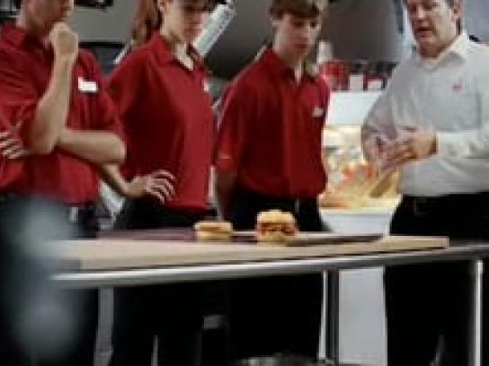 Arby's Film Ad -  Pompadour