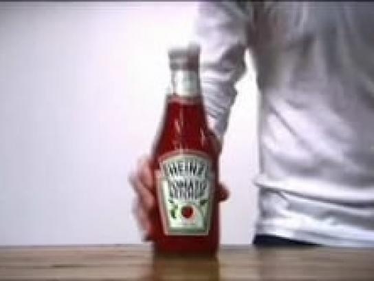 Heinz Digital Ad -  Bottle sounds