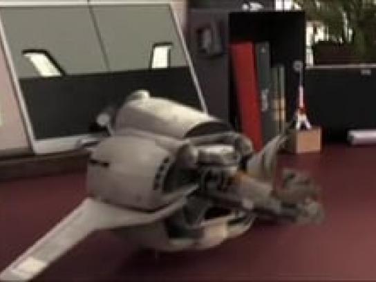 La Poste Film Ad -  Transformer