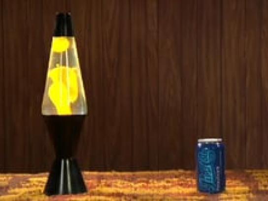 Pepsi Film Ad -  Lava lamp