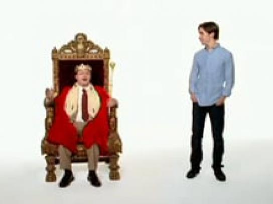Apple Film Ad -  Throne