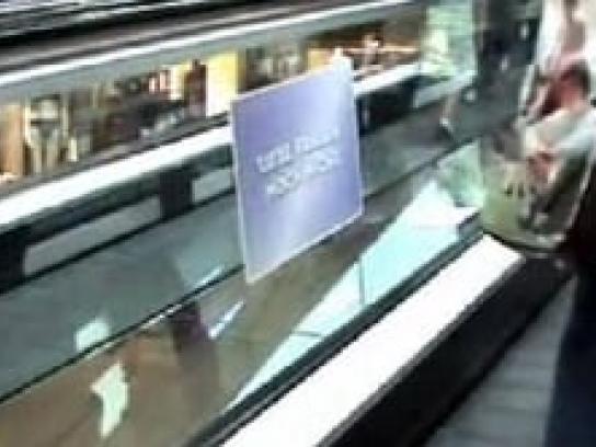 Nivea Ambient Ad -  Go longer between shaves