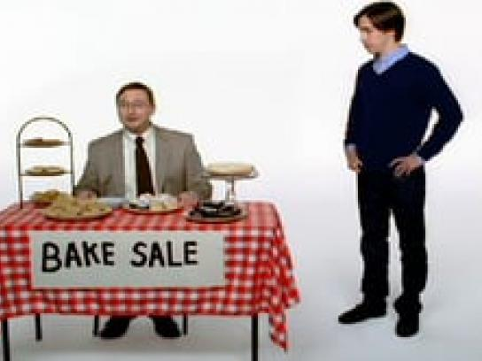 Apple Film Ad -  Bake sale