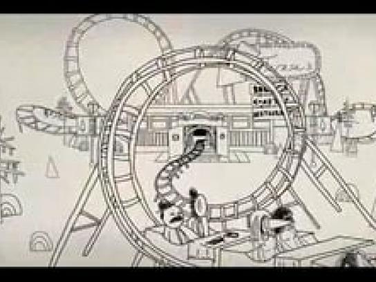 Minnesota State Lottery Film Ad -  Roller Coaster Restaurant